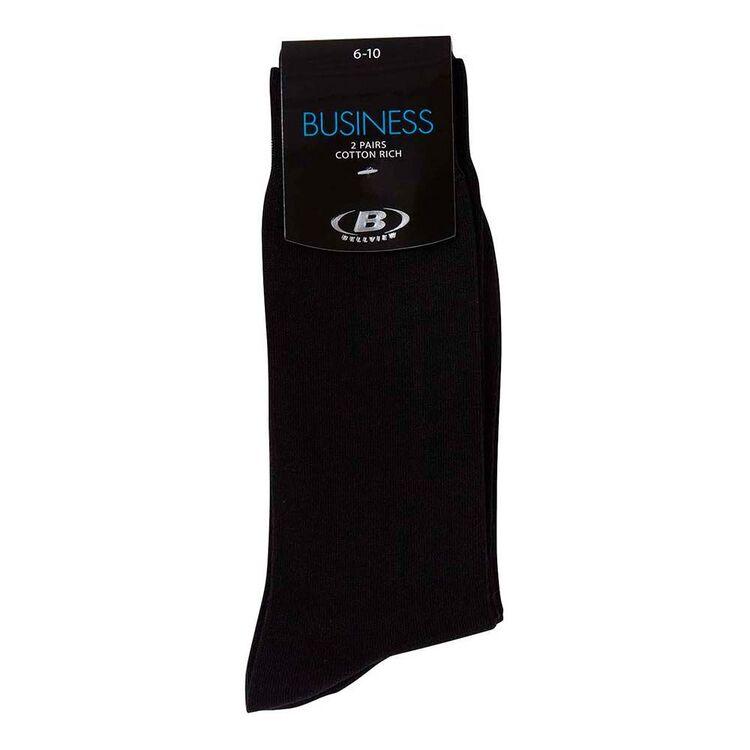 BELLVIEW 2pk Dress Business Sock