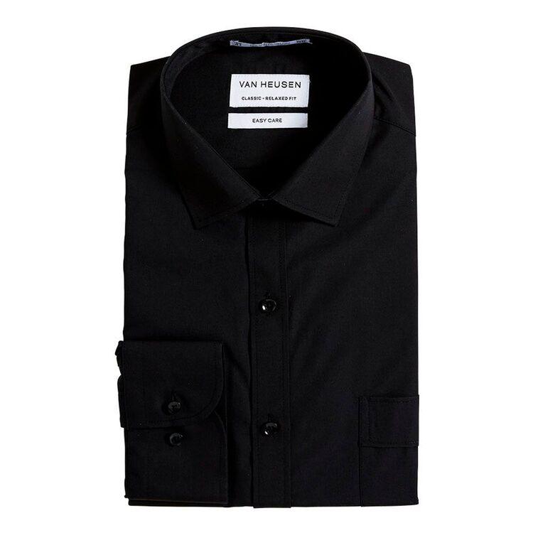 VAN HEUSEN Long Sleeve Poly Cotton Shirt
