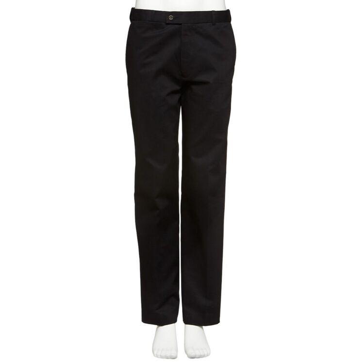 FARAH Mens Stradbroke Casual Fit Flat Front Wrinkle Resistant Trouser