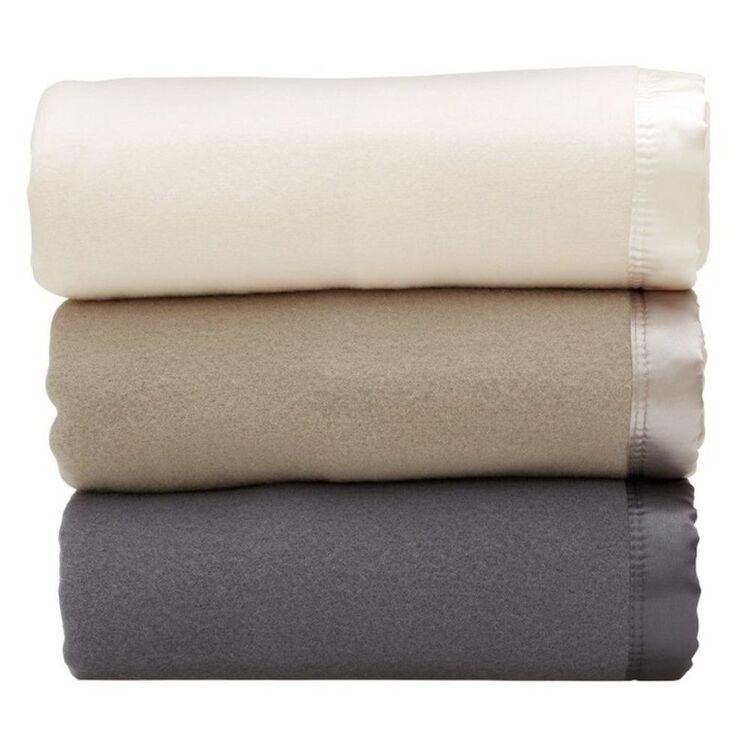 GAINSBOROUGH Australian Wool Blanket Qb/Kb