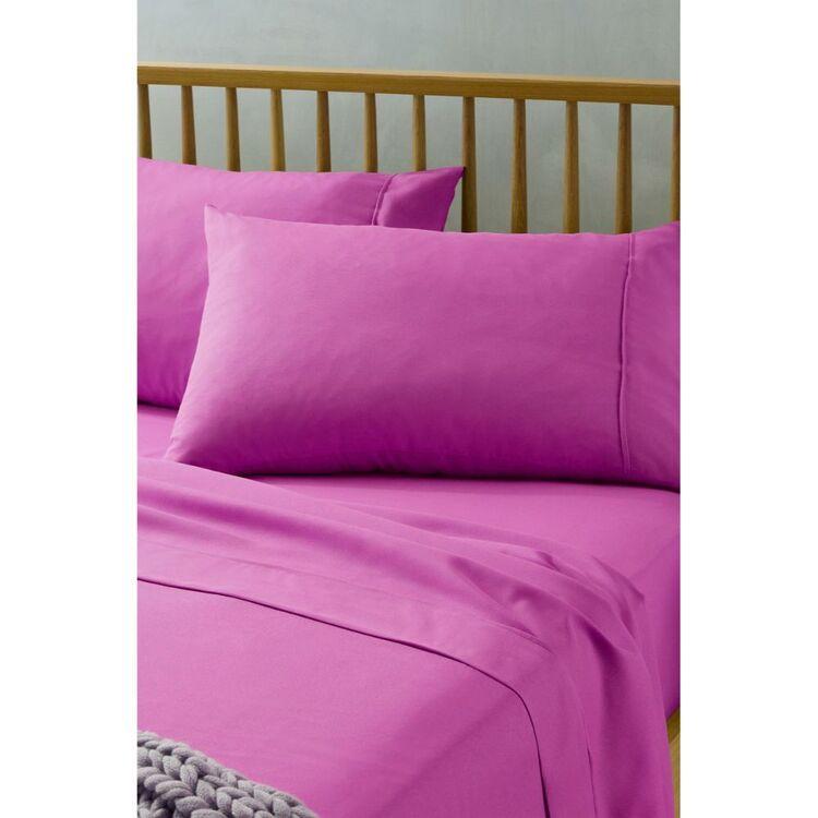 BIG SLEEP Microfibre Sheet Set Single Bed