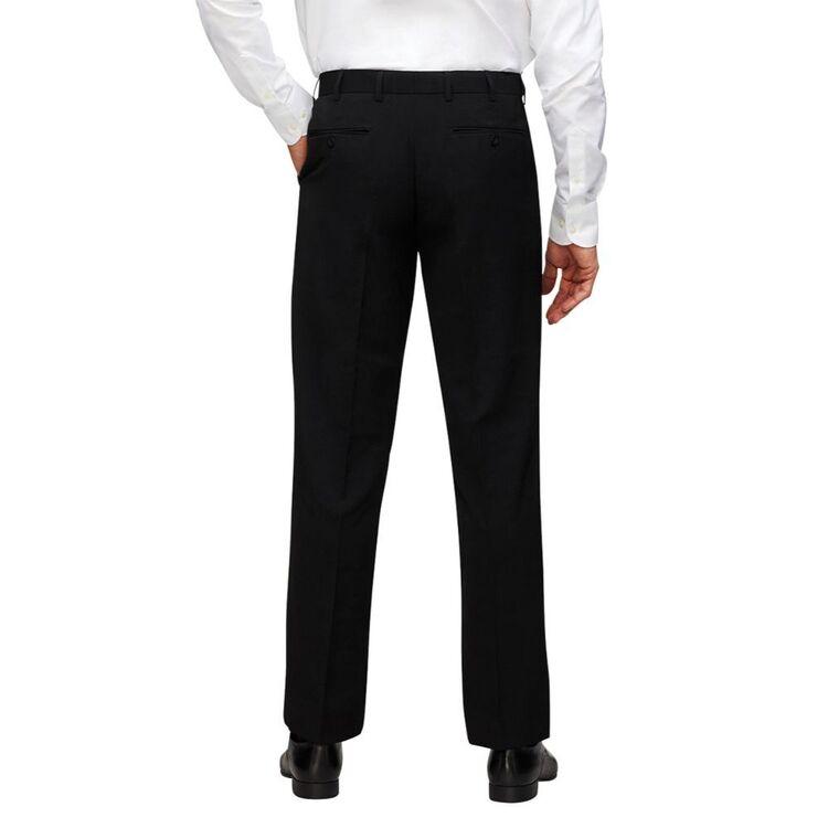 BRACKS Flat Front Stripe Trouser
