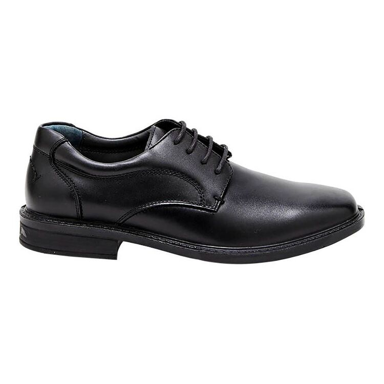 HUSH PUPPIES Tactics Wide Leather Lace Up Business Shoes