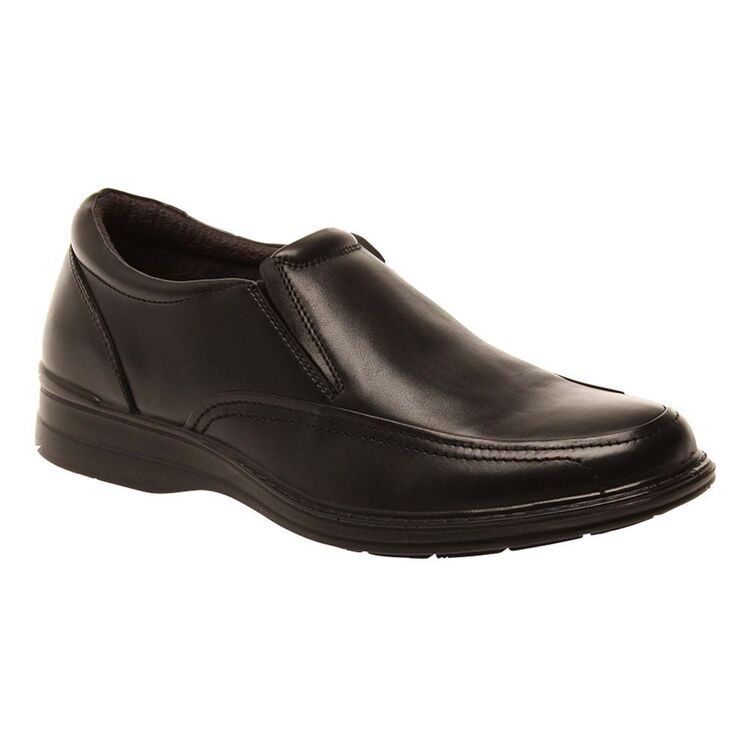 HUSH PUPPIES Transport Wide Leather Slip On