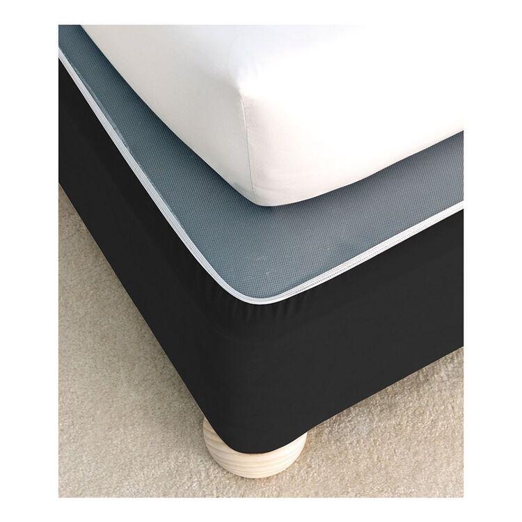 LINEN HOUSE Faux Suede Bedwrap King Single Bed