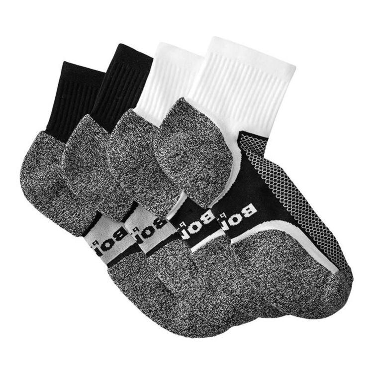 BONDS Ultimate Comfort Quarter Crew Sock 2 Pack