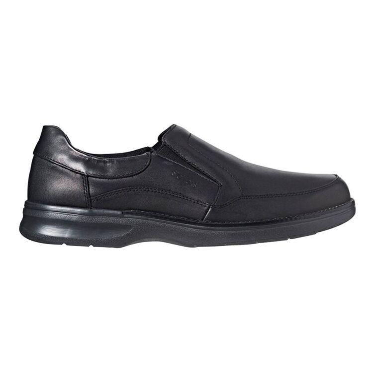 SLATTERS Ashford Leather Gusset Slip On BusinessShoes