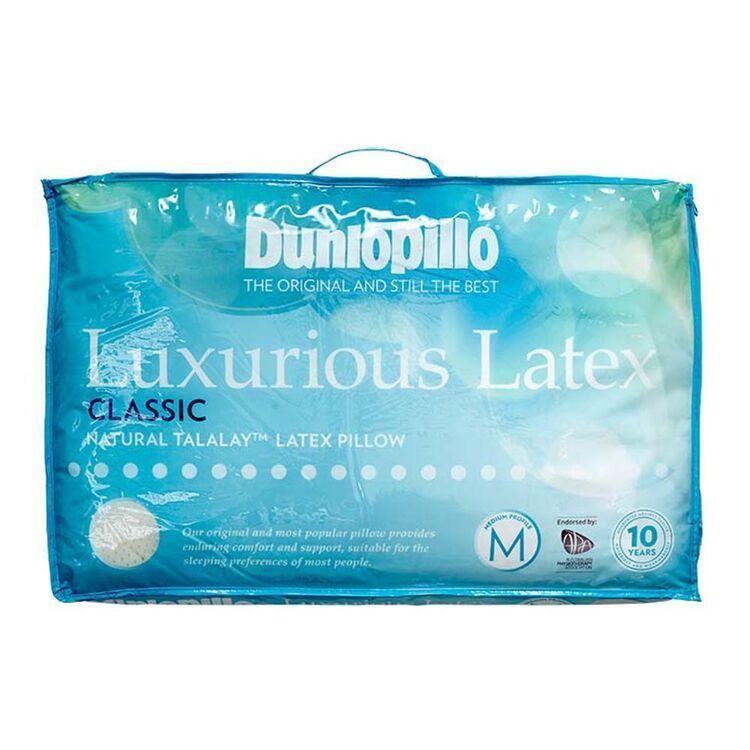 DUNLOPILLO Luxurious Latex Classic Profile Pillow