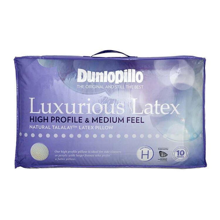 DUNLOPILLO Luxurious Latex High Profile Pillow