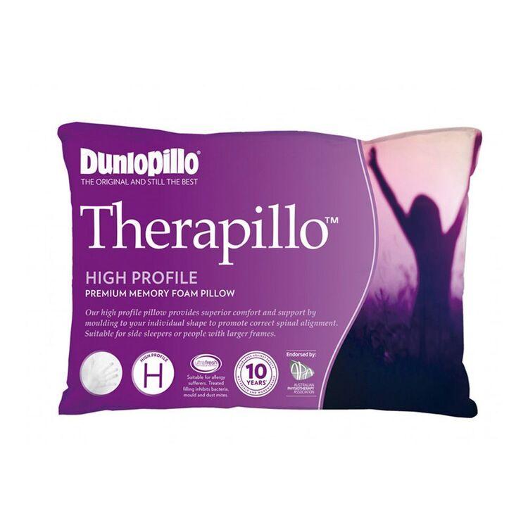 DUNLOPILLO Therapillo Memory Foam High Profile Pillow