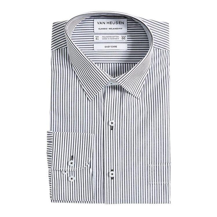 VAN HEUSEN Stripe Classic Stripe Fit Shirt