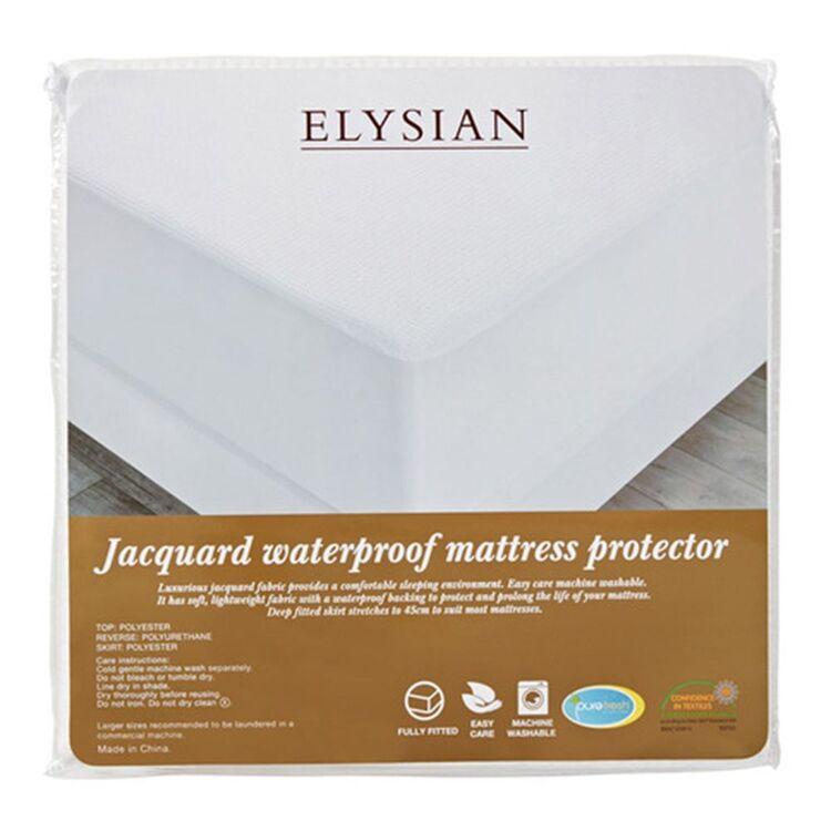 ELYSIAN Waterproof Mattress Protector Queen Bed