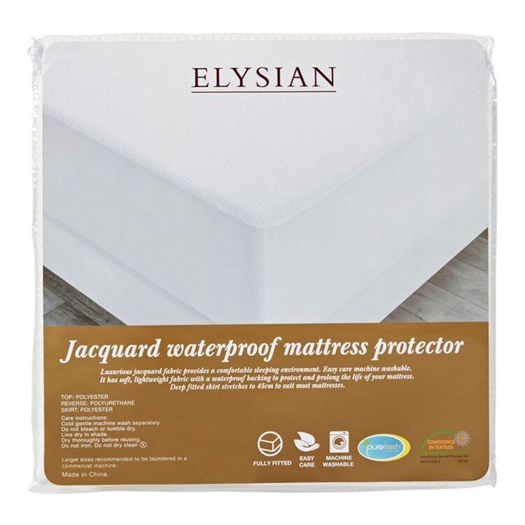 ELYSIAN Waterproof Mattress Protector King Bed