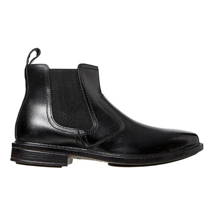HUSH PUPPIES Heat Leather Elastic Gusset Boot