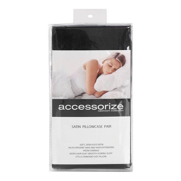 ACCESSORIZE Satin Pillowcase Pack of 2