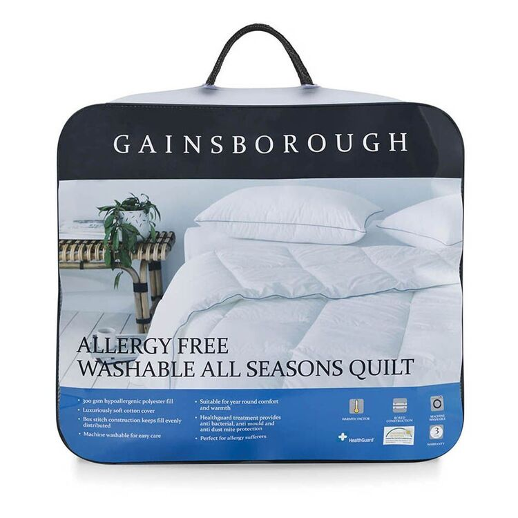 GAINSBOROUGH Allergy Free All Seasons Quilt Double Bed