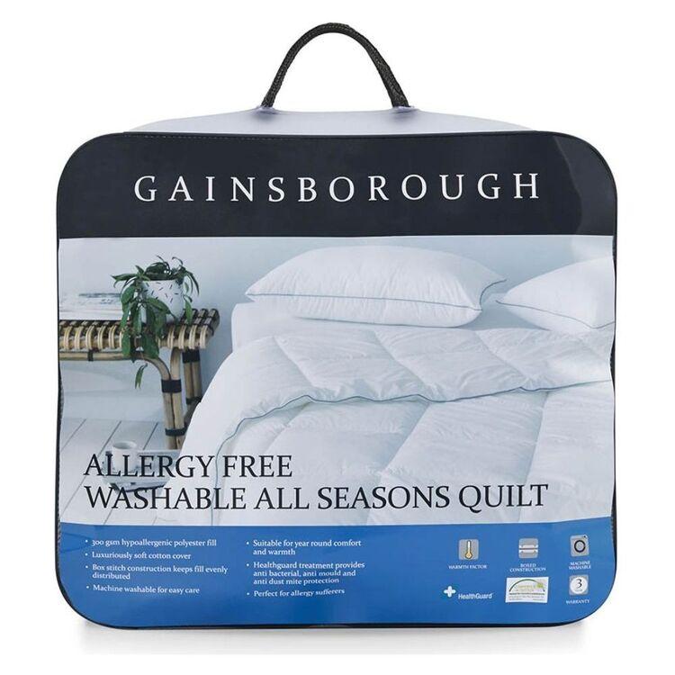 GAINSBOROUGH Allergy Free Quilt Queen Bed