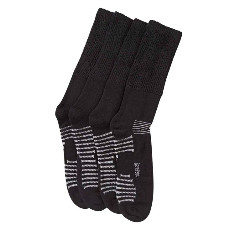 JACK OF ALL TRADES Benefeet 2pk Bamboo Therapeutic Sock