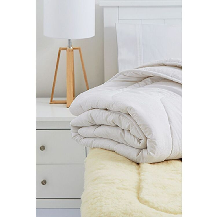 MINI JUMBUK Gold 900gsm Australian Wool Underlay King Bed