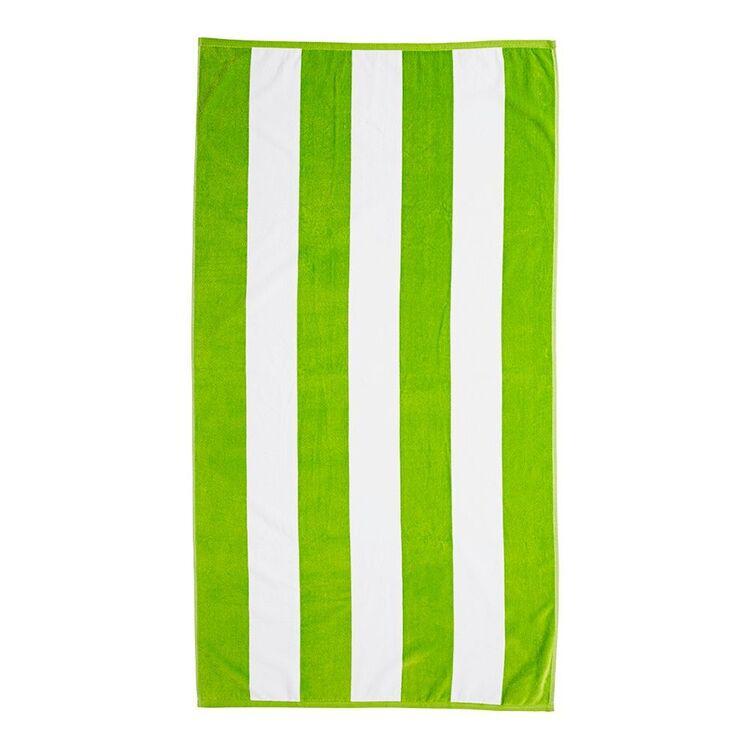 POLO Cabana Stripe Beach Towel 90x172cm