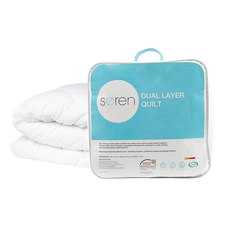 SOREN Dual Layer Quilt Queen Bed