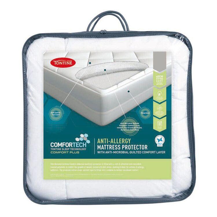 TONTINE Comfortech Anti Allergy Mattress Protector Db