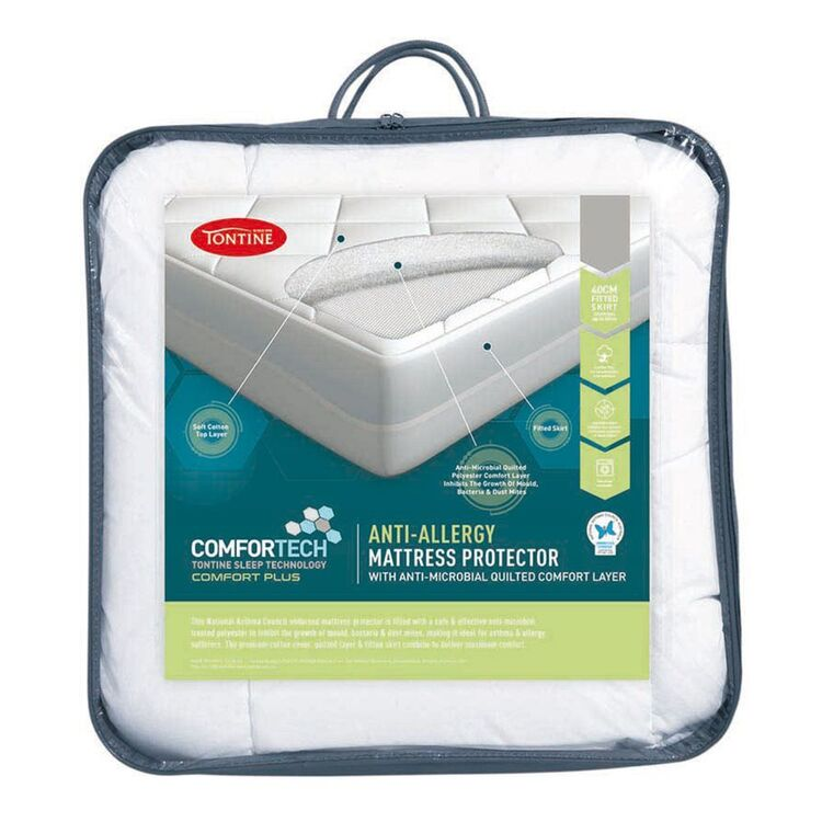 TONTINE Comfortech Anti Allergy Mattress Protector Ksb