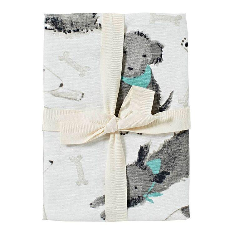 MOZI Mutts Tea Towel Set 50x70cm