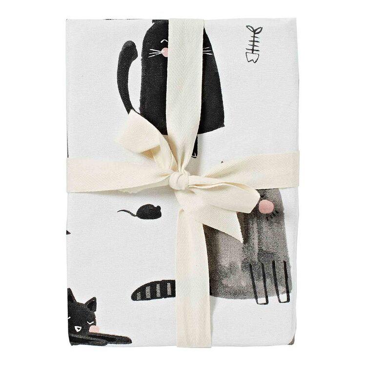MOZI Moggs Tea Towel Set 50x70cm