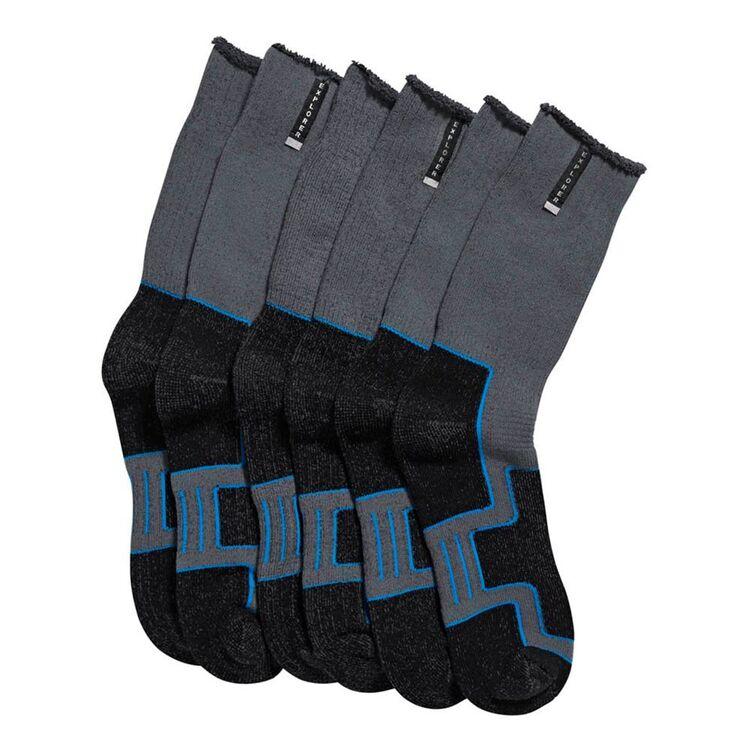 EXPLORER Extreme Impact 3pk Cotton Crew Sock