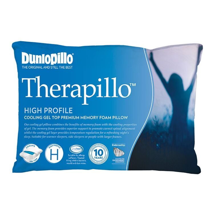 DUNLOPILLO Therapillo Cooling Gel Top Pillow