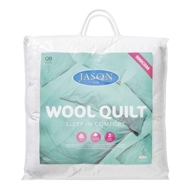 JASON 500gsm Wool Quilt Queen Bed