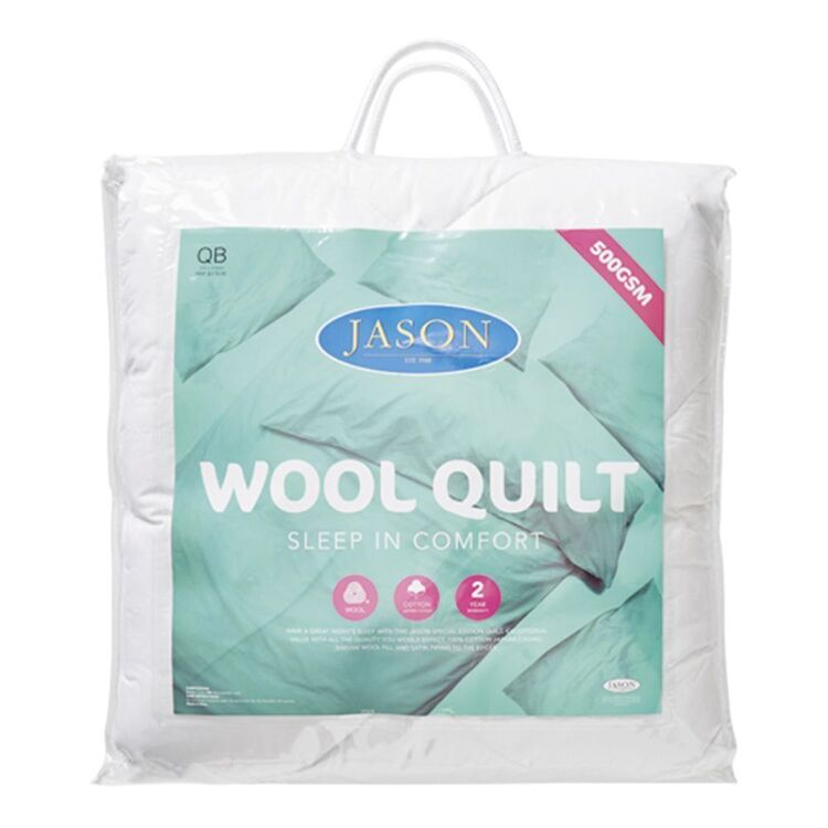 JASON 500gsm Wool Quilt King Bed