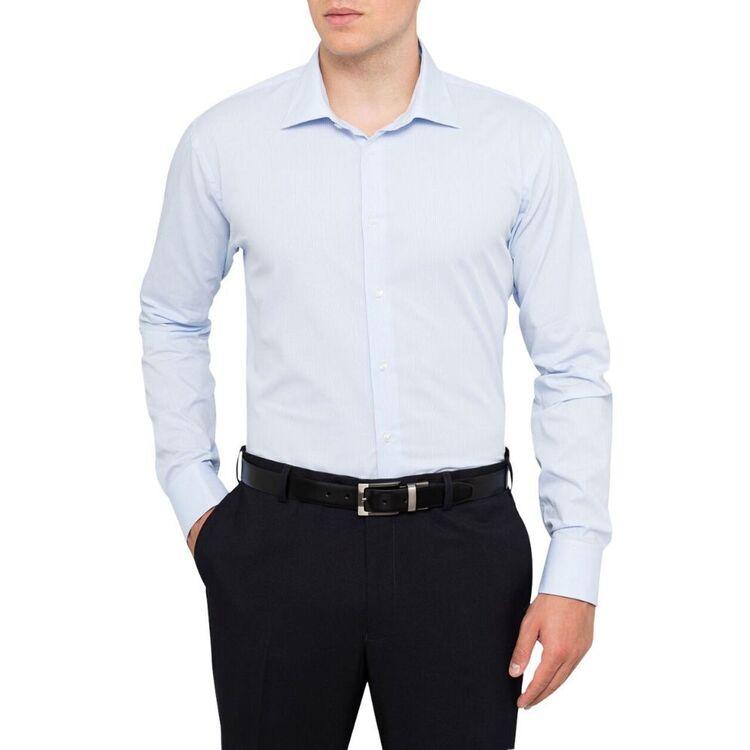 CALVIN KLEIN Mens Long Sleeve Business Shirt