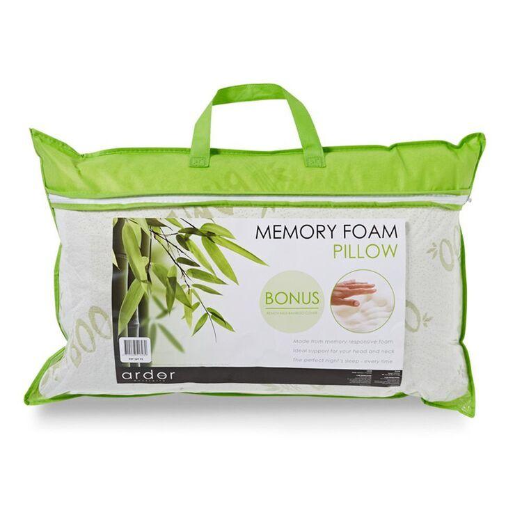 ARDOR Shredded Memory Foam Pillow With BambooCover