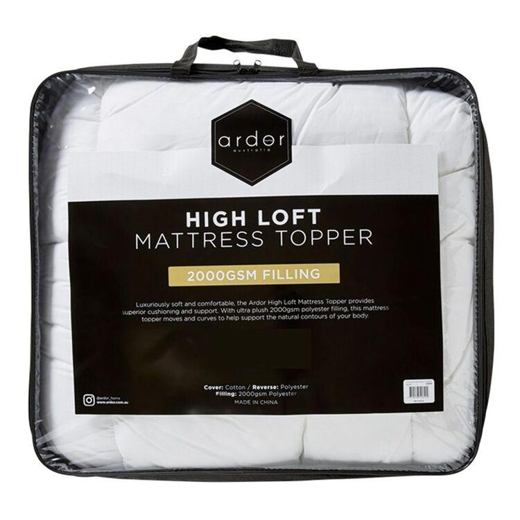 ARDOR 2000GSM High loft Topper Queen Bed