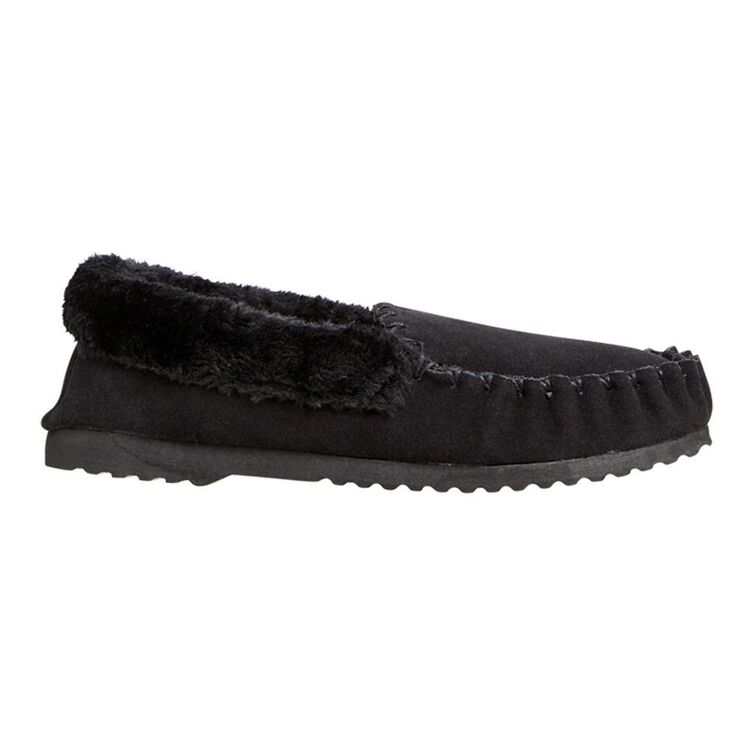 WEAVERS Mens Basic Suede Moccassin