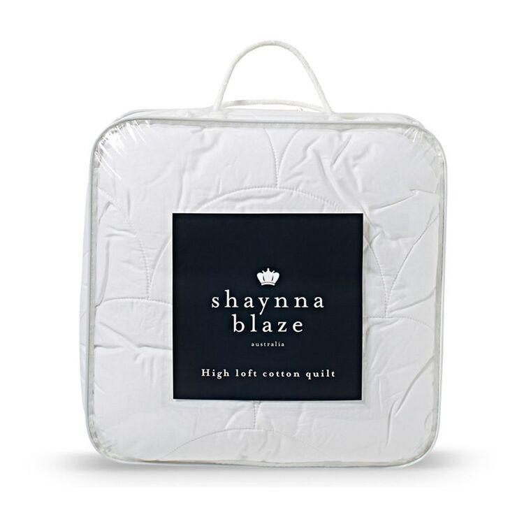 SHAYNNA BLAZE High Loft Cotton Quilt Super King Bed