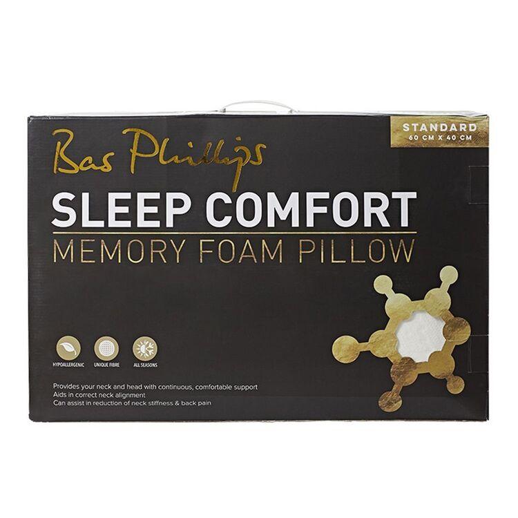 BAS PHILLIPS Sleep Comfort Memory Foam Standard