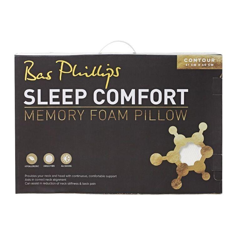 BAS PHILLIPS Sleep Comfort Memory Foam Contour