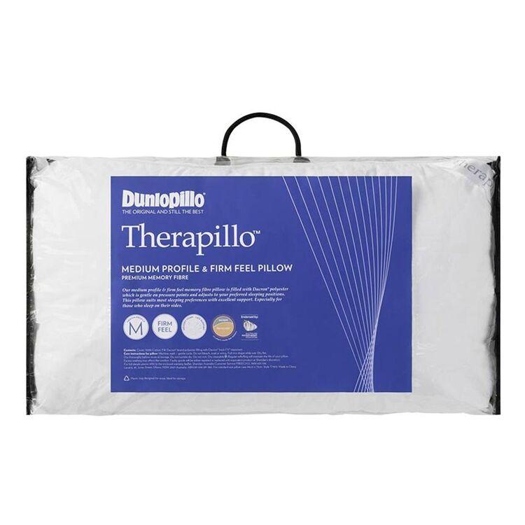 DUNLOPILLO Therapillo Memory Fibre Pillow Firm