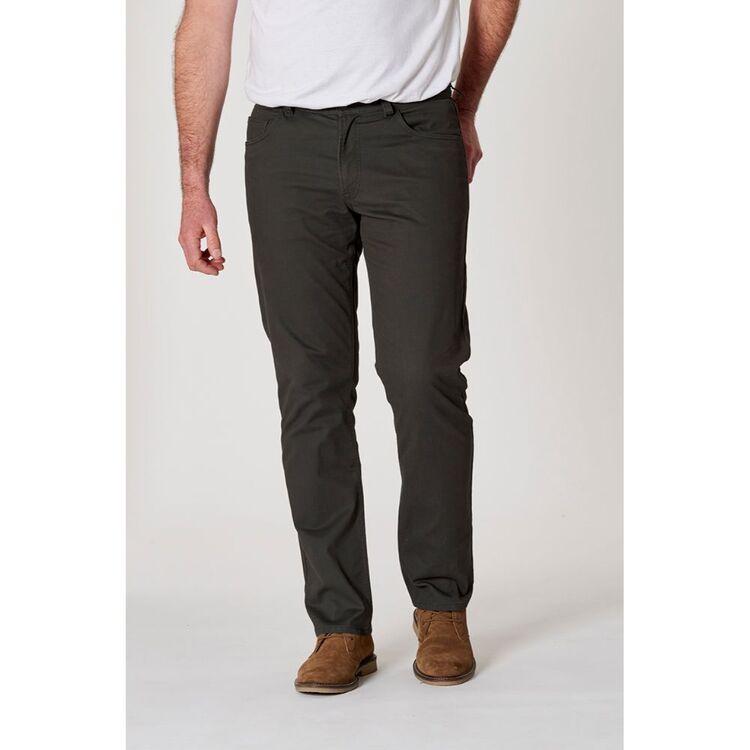 JC LANYON Bedford Cord 5 Pocket Trouser