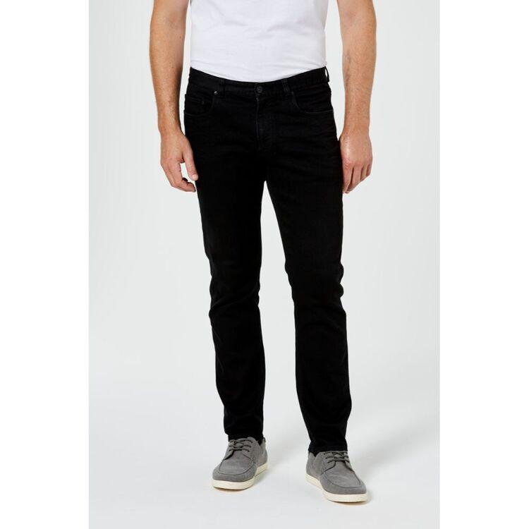 JC LANYON Men's Devonport Tapered Leg Stretch Jean