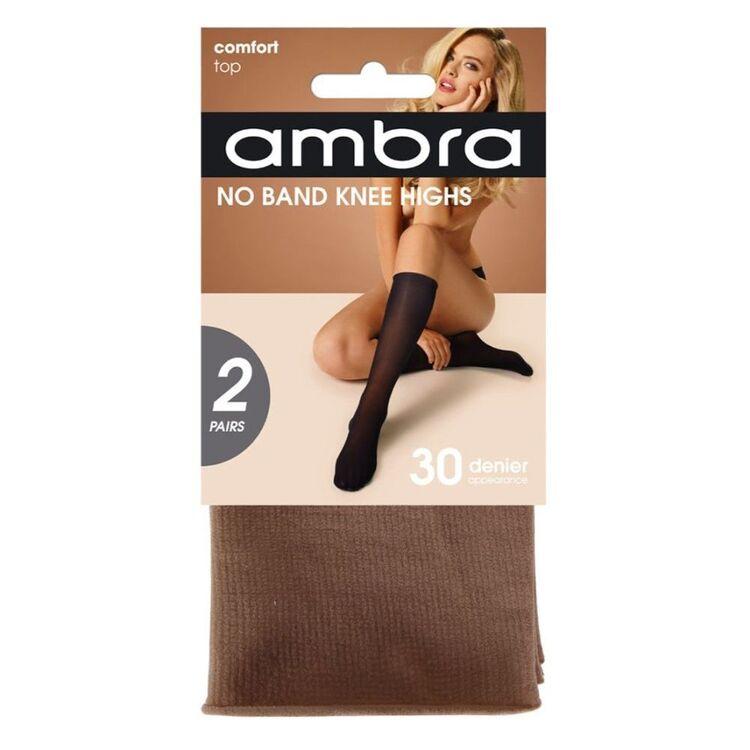 AMBRA 2PK NO BAND KNEE HIGHS