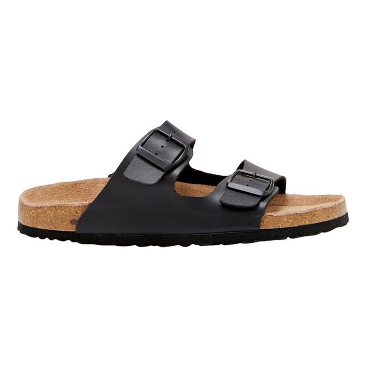 ISABELLA BROWN CLEO TWO STRAP SLIDE WITH BUCKLE