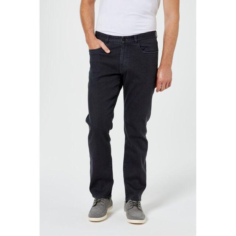 JC LANYON Men's Blakistan Straight Leg Jean
