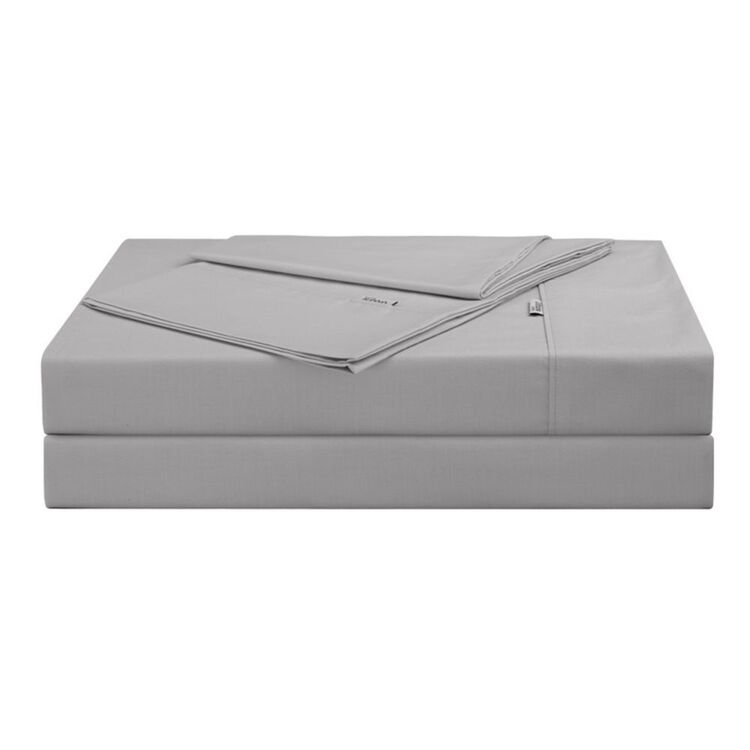 URBANE HOME 225 THREAD COUNT COTTON RICH SHEET SET DOUBLE BED