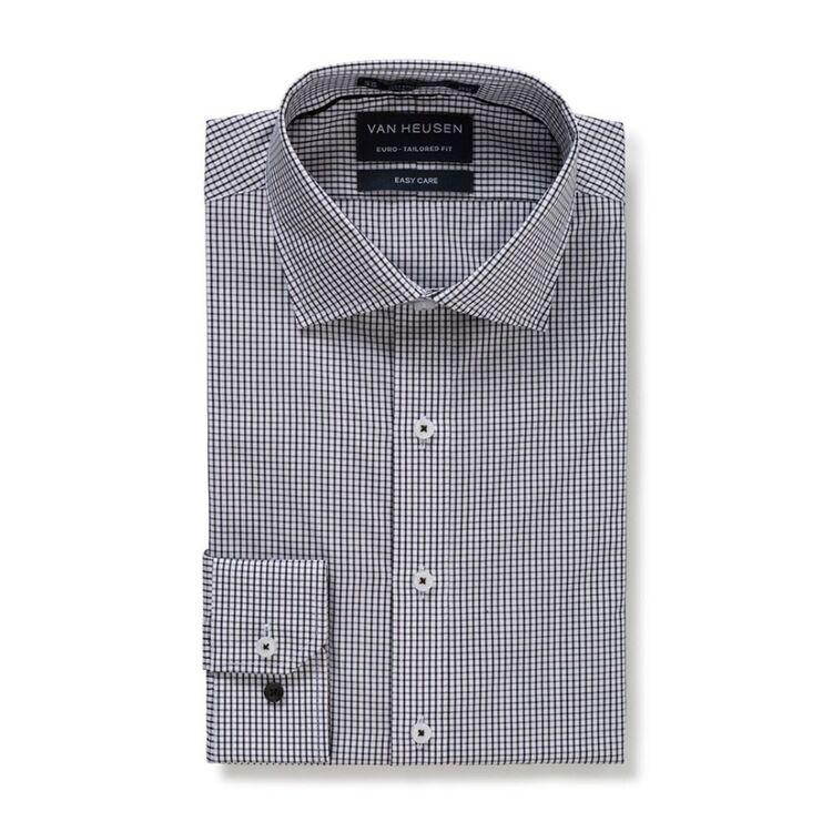 VAN HEUSEN Mens European Fit Check Business Shirt