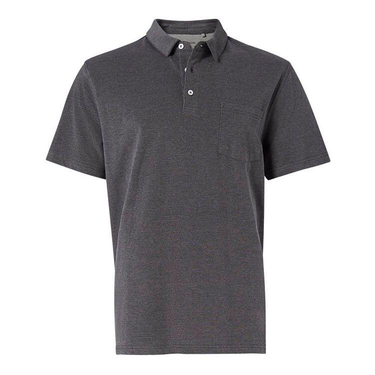 BRONSON BASIC Mens Byron Plain Cotton Polo