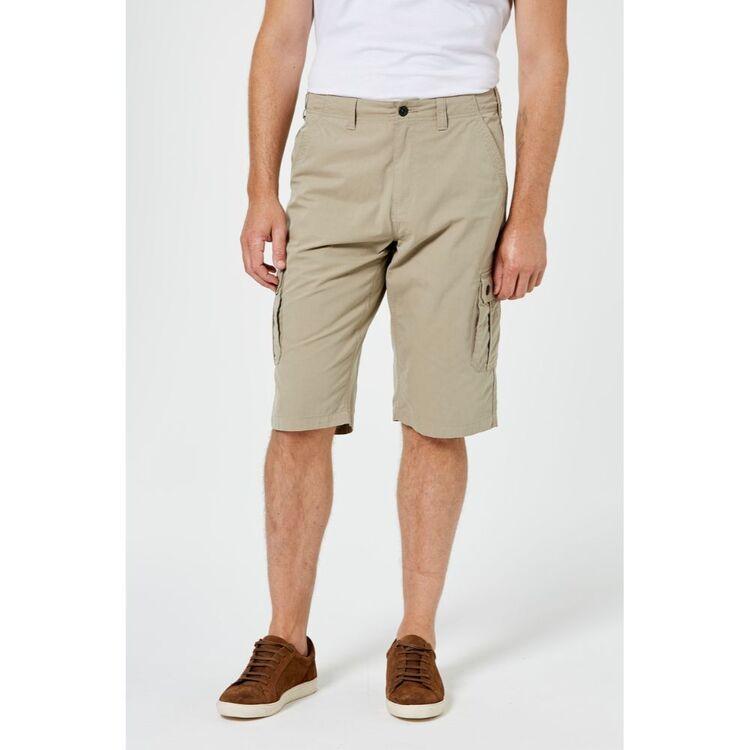 BRONSON CASUAL Men's Hamilton Cargo 3/4 Leg Short